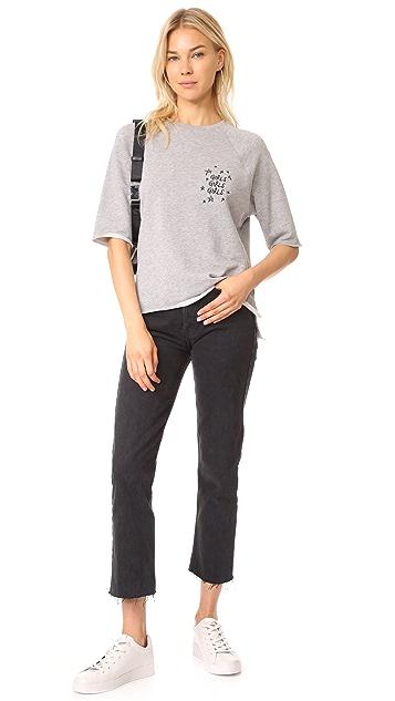 South Parade Girls Girls Girls Embroidered Sweatshirt