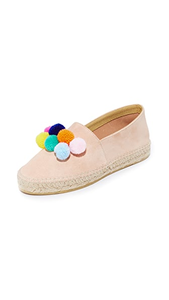 South Parade Pom Pom Espadrilles - Blush