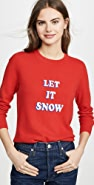 South Parade Let It Snow Cashmere Sweater