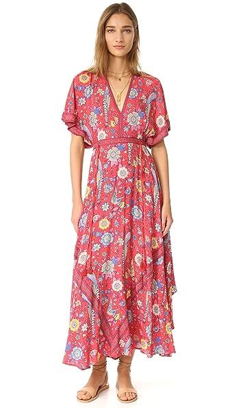 SPELL Lovebird Half Moon Gown