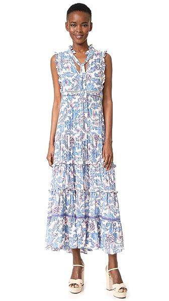 SPELL Etienne Maxi Dress