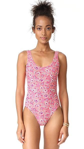 SPELL Flamingo Blossom Swimsuit