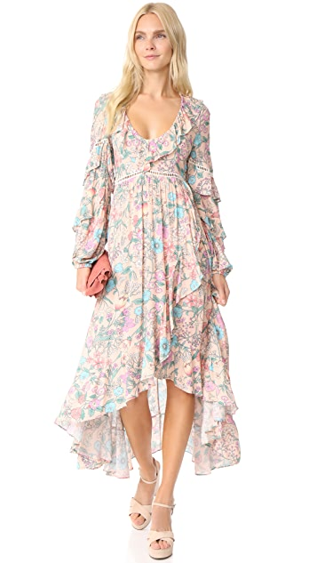 Spell and the Gypsy Collective Sayulita Frill Gown