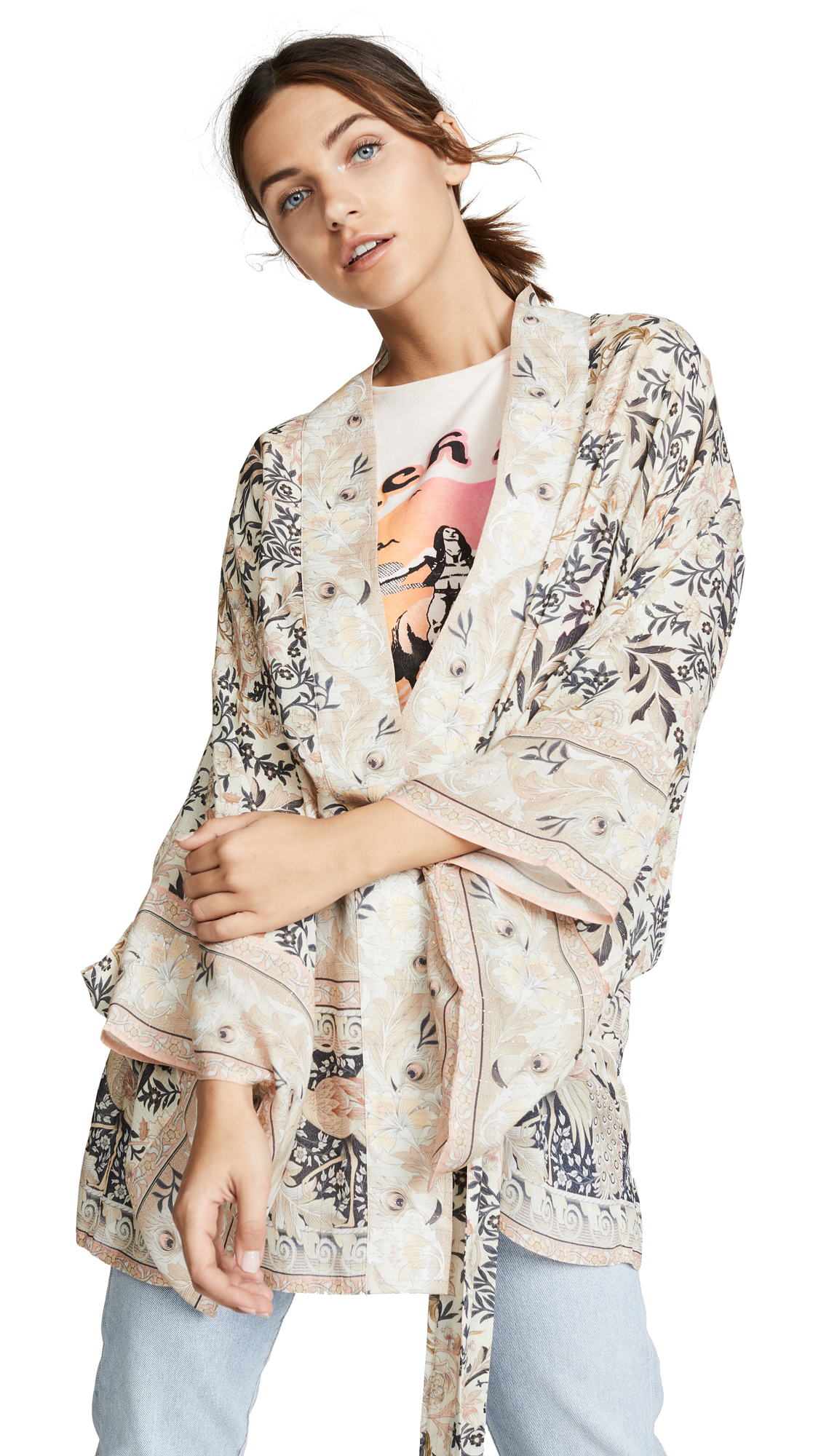 Spell and the Gypsy Collective Oasis Short Kimono
