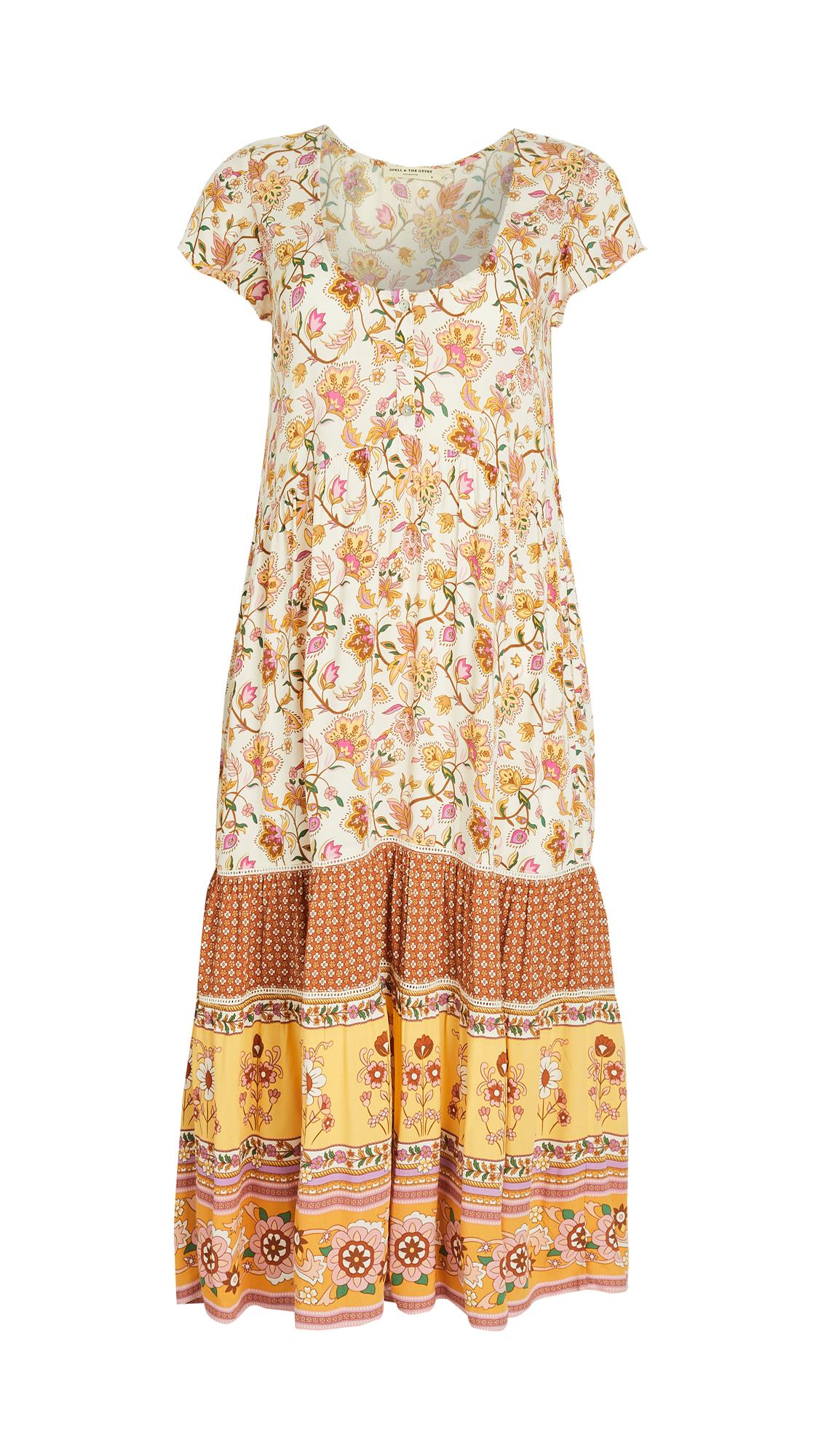 Spell and the Gypsy Collective Portobello Road Babydoll Midi Dress
