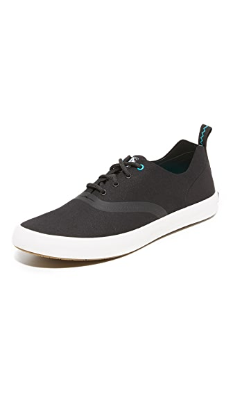 Sperry Paul Sperry Microfiber Flex Deck Sneakers