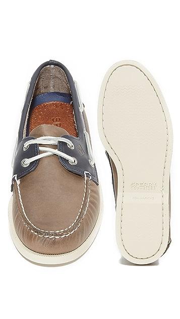 Sperry A/O 2 Eye Sarape Boat Shoes