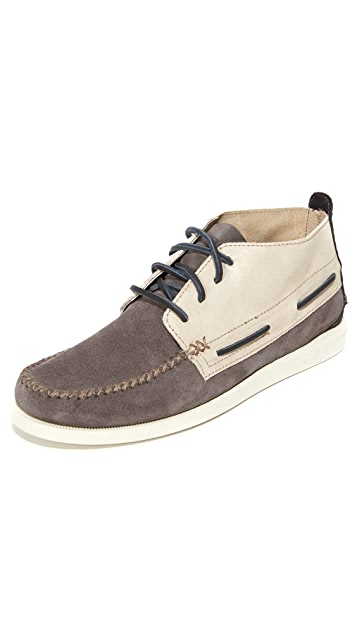 Sperry A/O Wedge Chukka Boat Shoes