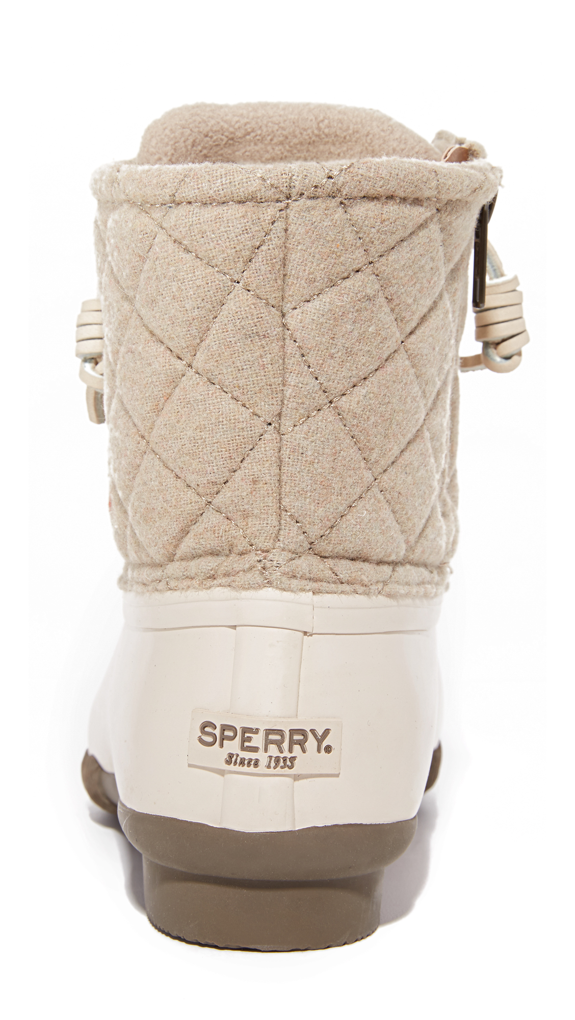 size 40 d1eb5 d95b0 Sperry Saltwater Quilted Wool Booties   SHOPBOP