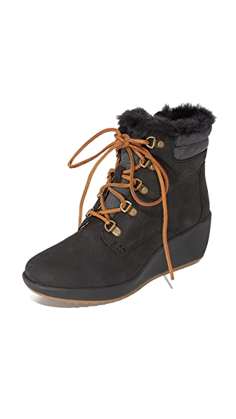 Sperry Luca Peak Wedge Booties - Black