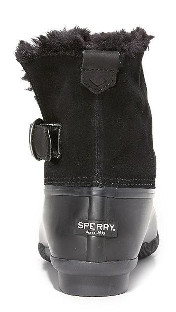 Sperry Saltwater Ivy Faux Fur Booties