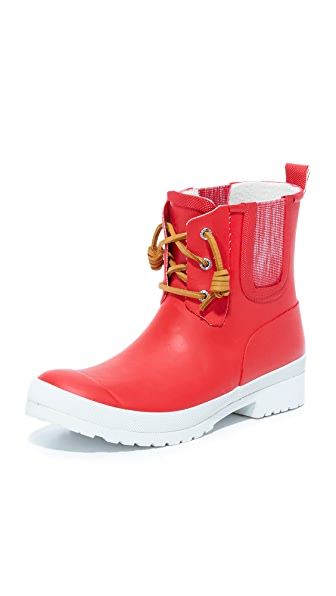 Sperry Walker Chelsea Booties - True Red