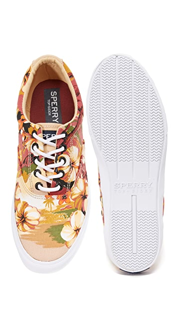 Sperry Striper LL CVO Hawaiian Sneakers
