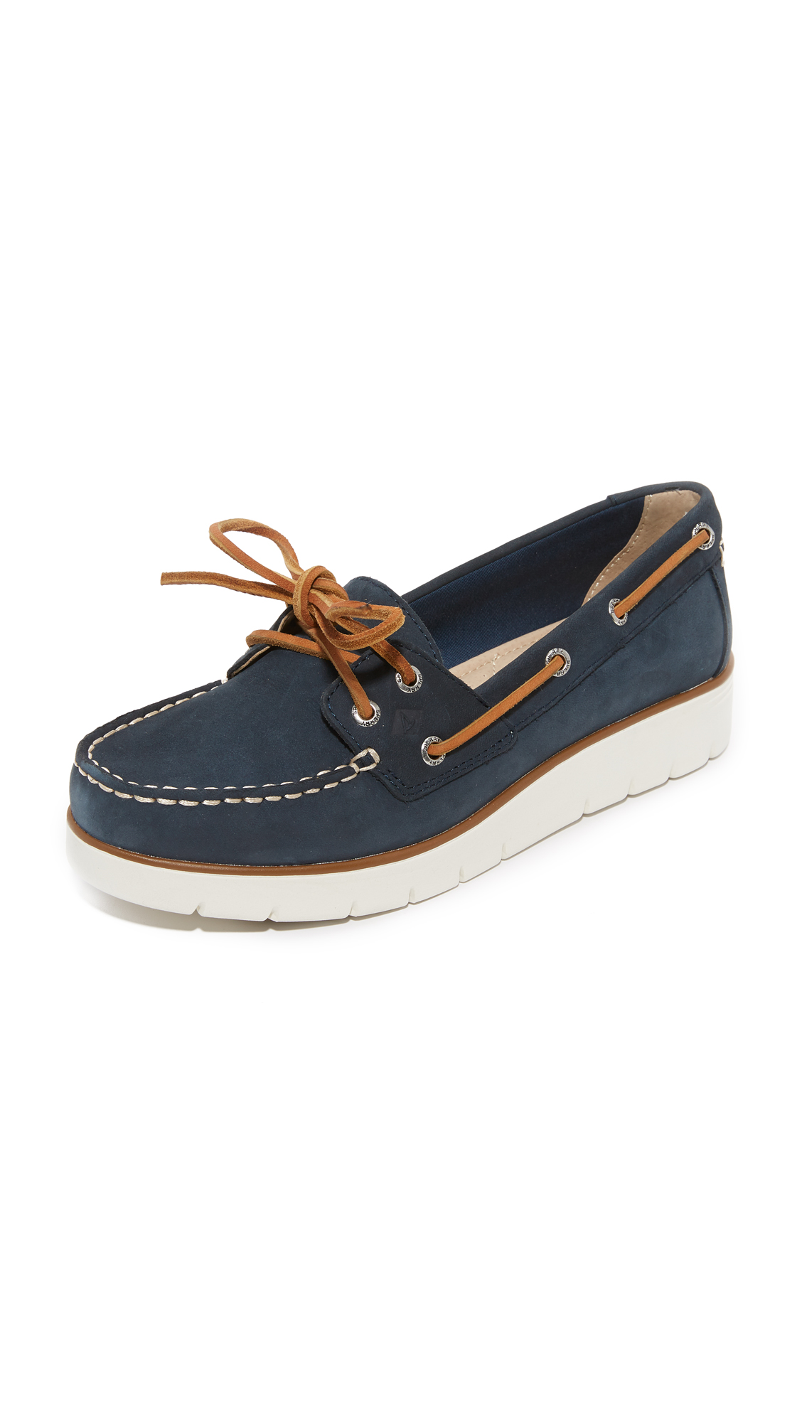 Sperry Azur Cora Boat Shoes - Navy