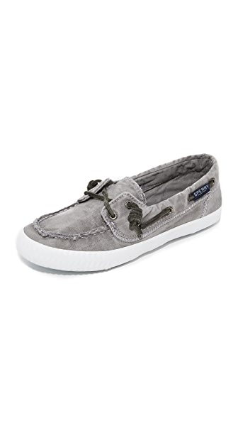 Sperry Sayel Away Boat Shoes - Grey