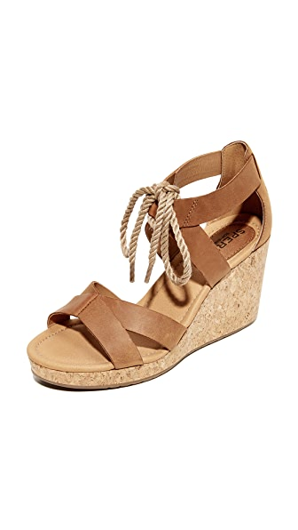 Sperry Dawn Ari Wedge Sandals - Sierra