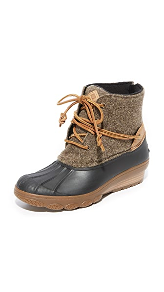 675f9a4d8475 SPERRY Saltwater Wedge Tide Wool Booties