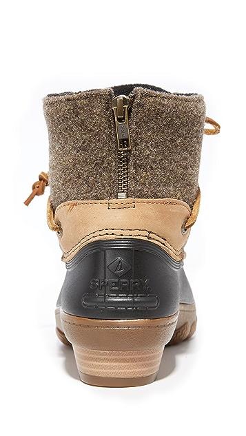 Sperry Saltwater Wedge Tide Wool Booties