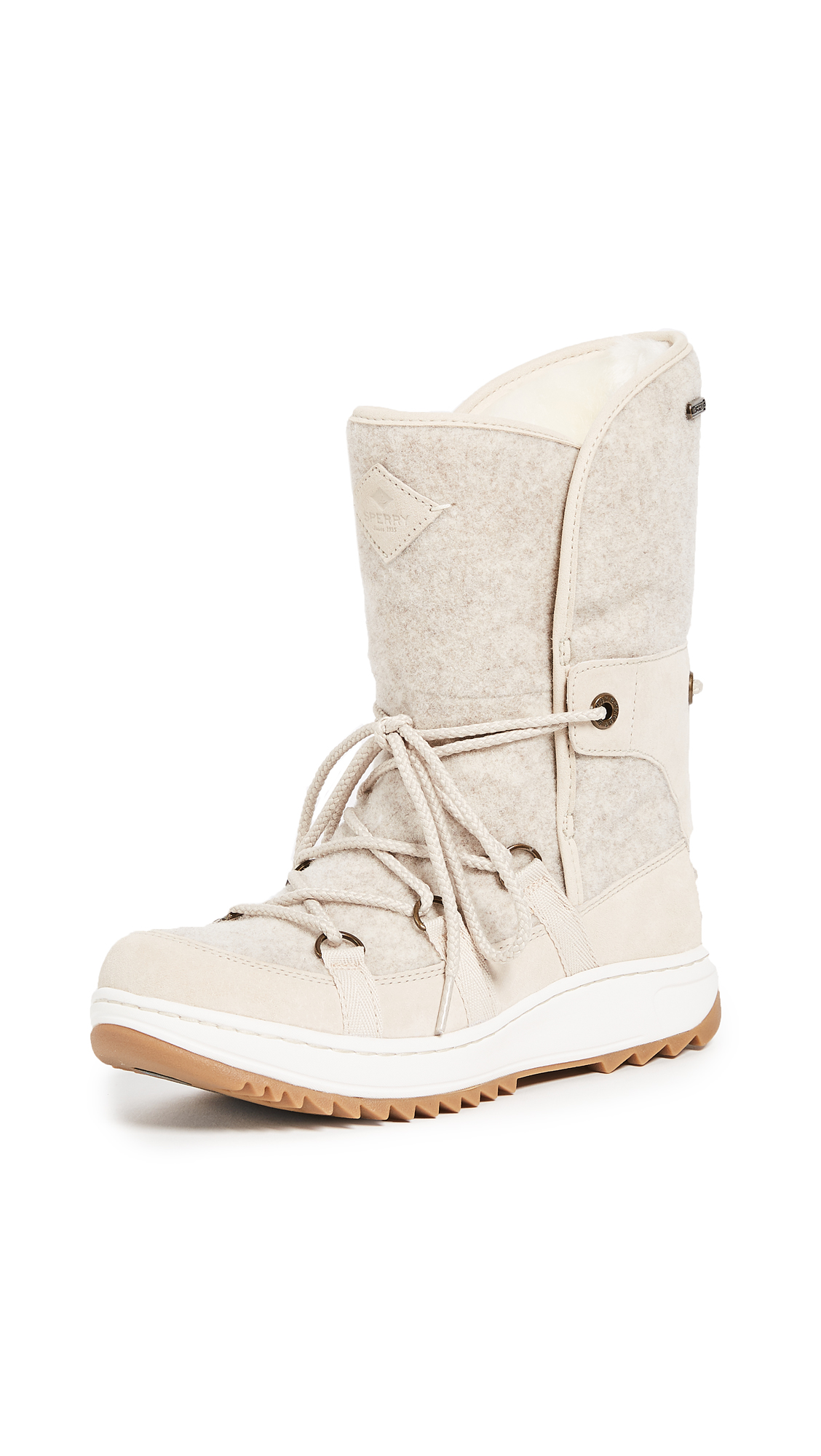 Sperry Powder Ice Cap Boots - Ivory