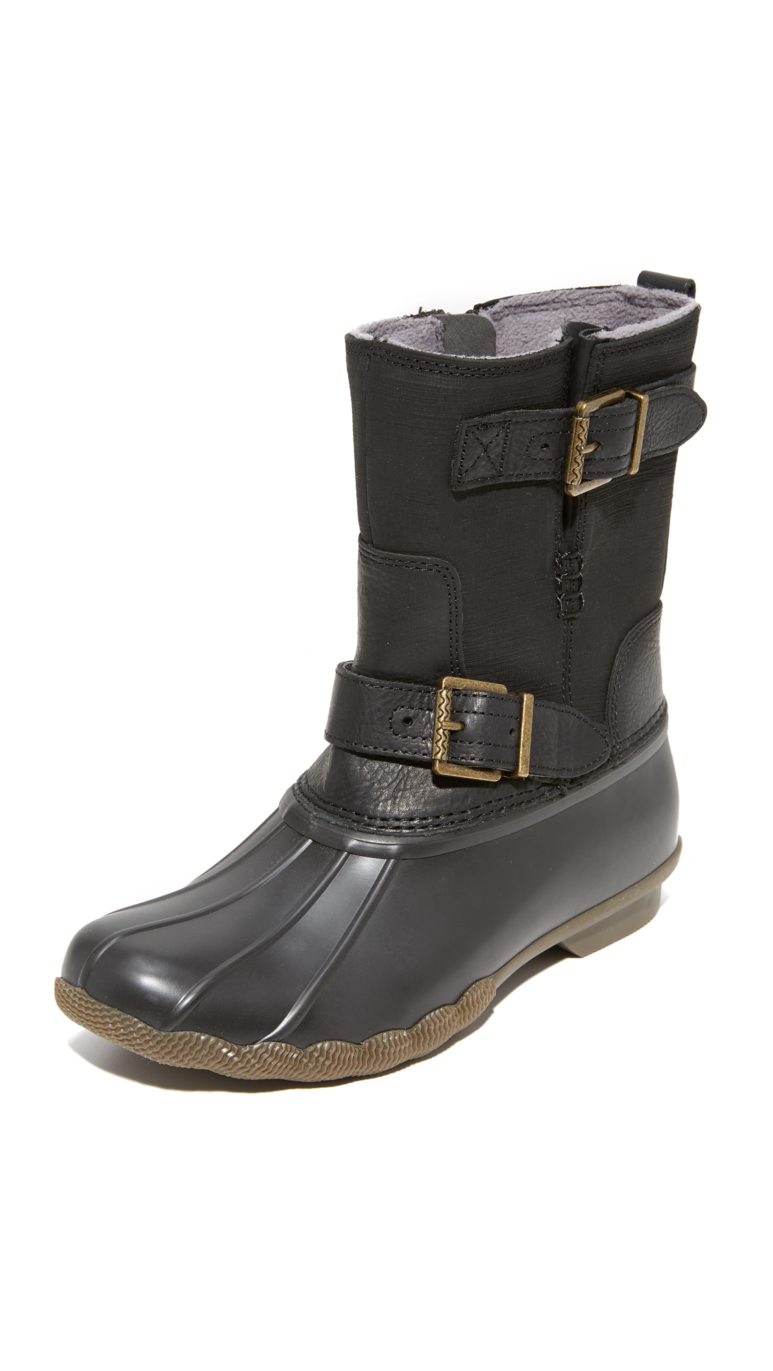 Sperry Saltwater Acadia Boots - Black