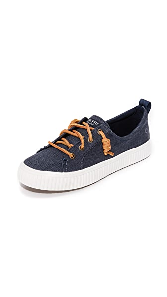 Sperry Crest Vibe Creeper Sneakers - Navy