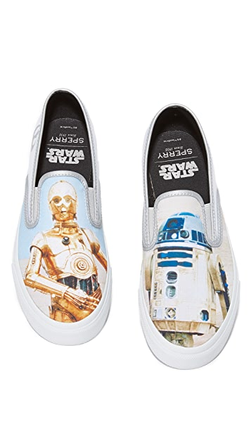 Sperry x Star Wars DROIDS Cloud Slip On Sneakers