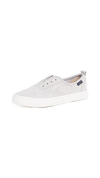 Sperry Crest Creeper Sneakers In Grey