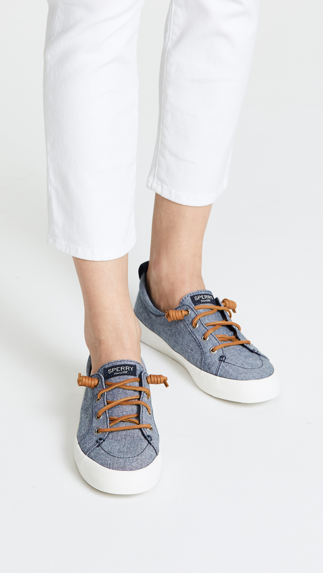 Sperry Chambray Crest Vibe Sneakers TBIar