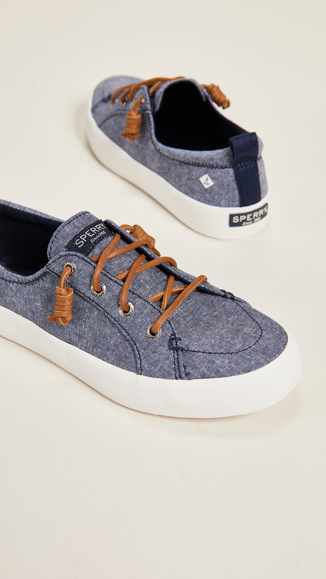 Chambray Sperry SneakersShopbop Crest Vibe Crepe g7yvYmf6Ib