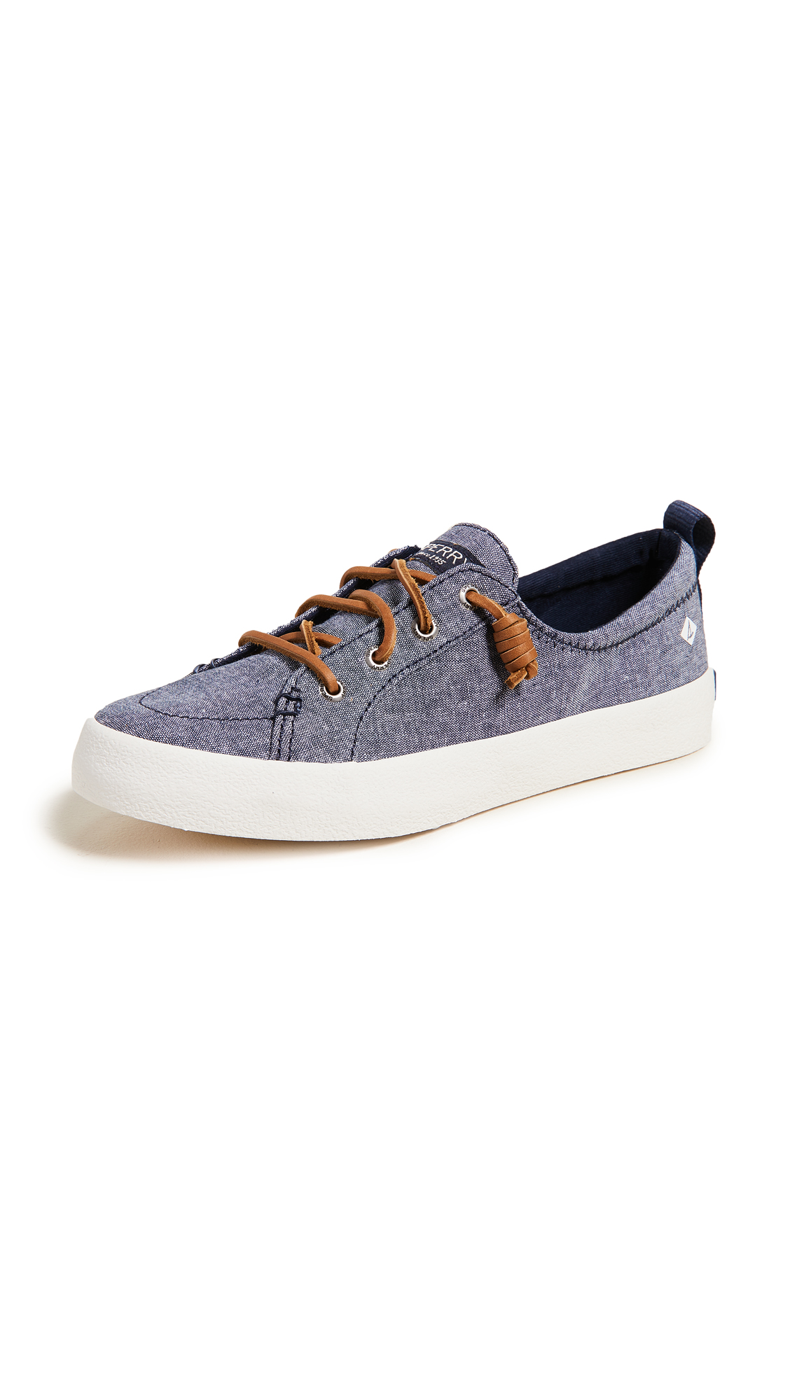 Photo of Sperry Crest Vibe Crepe Chambray Sneakers - buy Sperry shoes