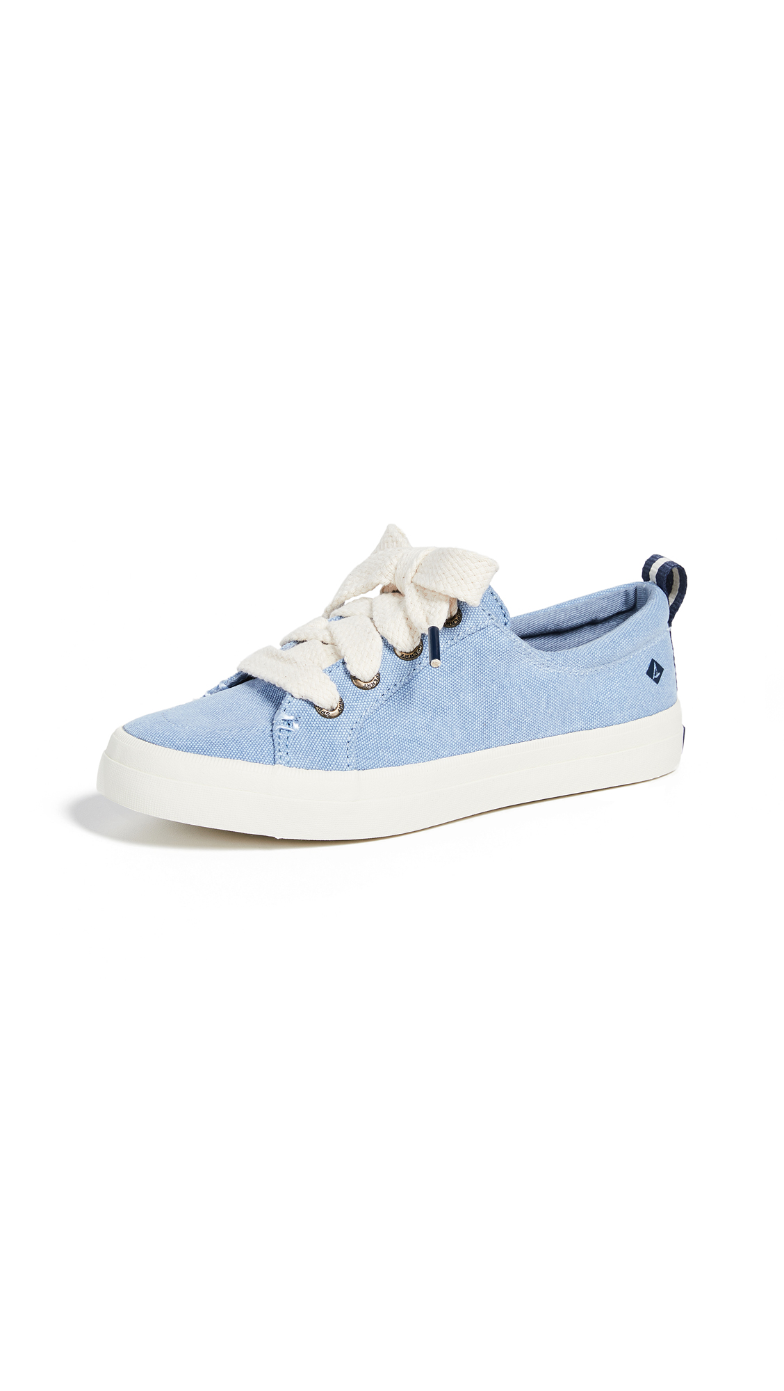Sperry Crest Vibe Chubby Lace Sneakers - Dusty Blue