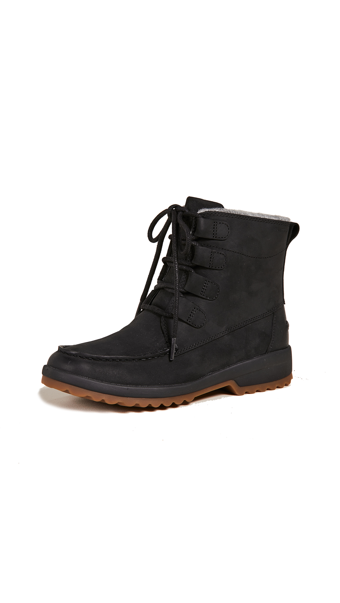 Sperry Maritime Cruz Boots - Black