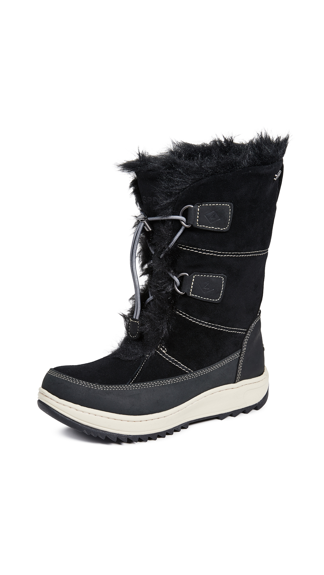 Sperry Powder Valley Boots - Black