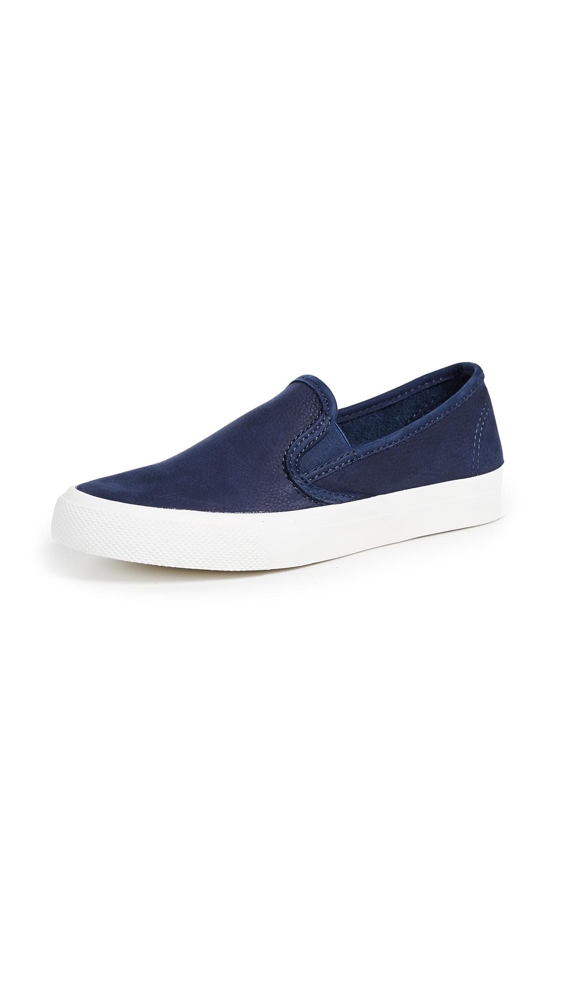 Sperry Seaside Slip On Sneakers - Navy