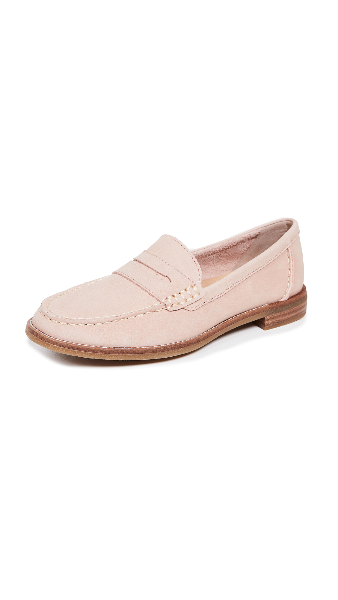 Sperry Seaport Penny Loafers - Rose Dust