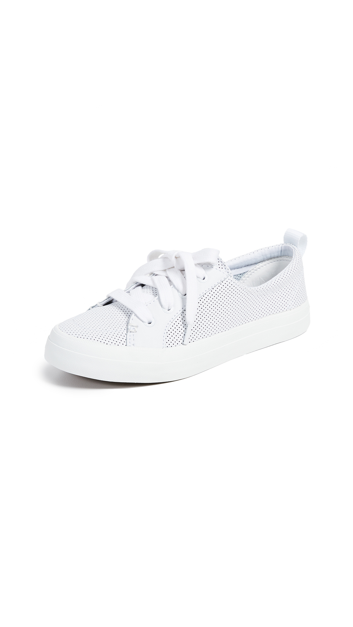 Sperry Crest Vibe Perforated Sneakers - White