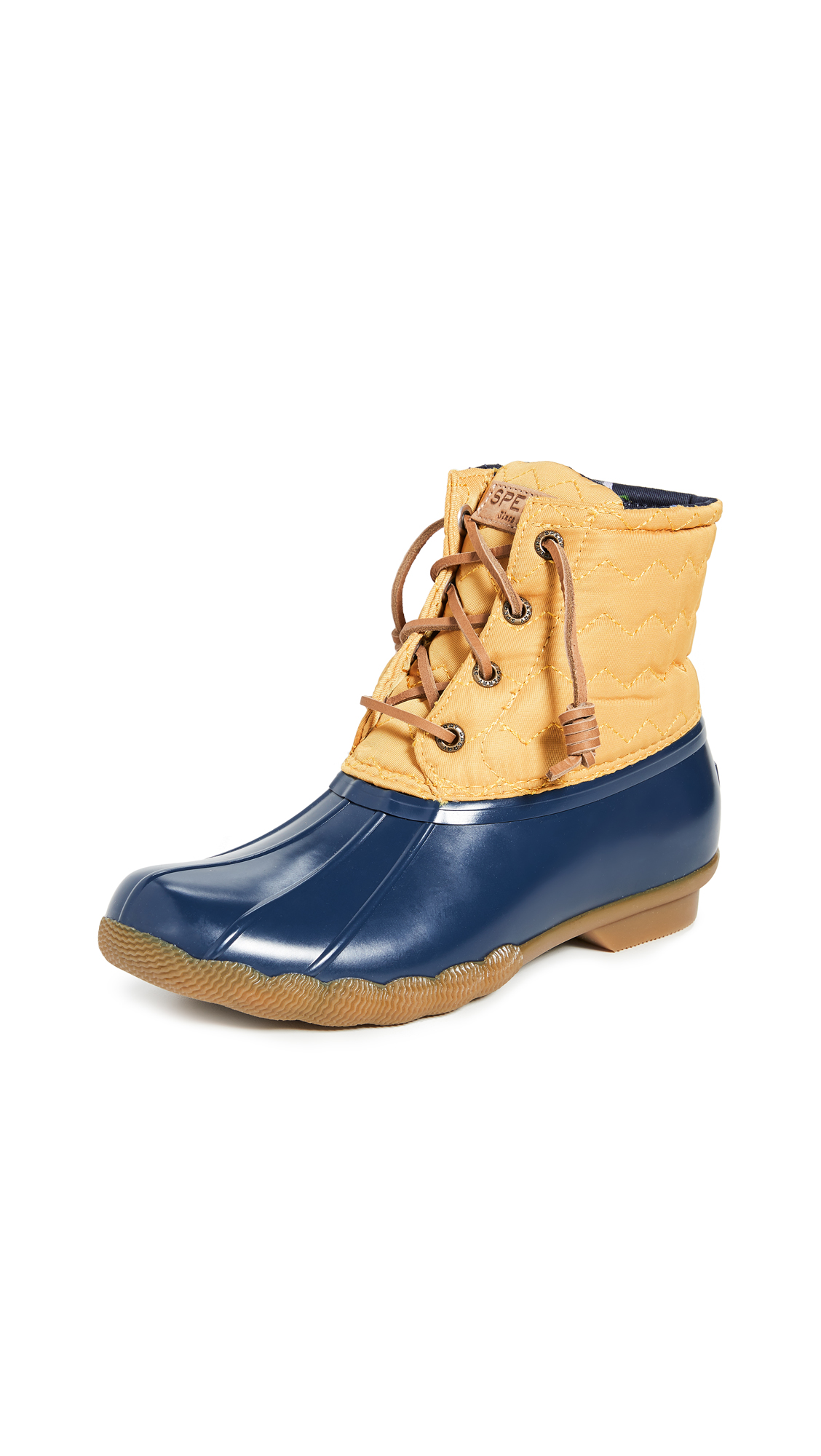 Buy Sperry online - photo of Sperry Saltwater Chevron Lace Up Boots