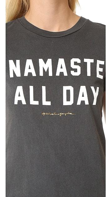 Spiritual Gangster Namaste All Day Concert Tee