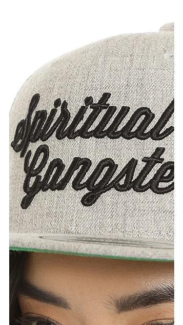 Spiritual Gangster Script Embroidered Hat