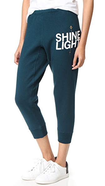 Spiritual Gangster Shine Light Arrow Dharma Sweatpants
