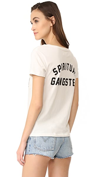 Spiritual Gangster Salute The Sun Tee
