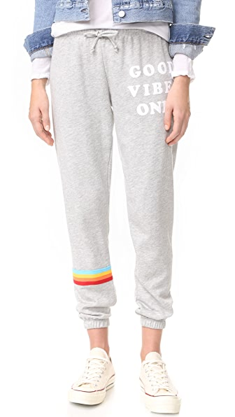 Spiritual Gangster Спортивные брюки Good Vibes Only