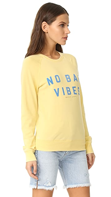 Spiritual Gangster No Bad Vibes Sweatshirt