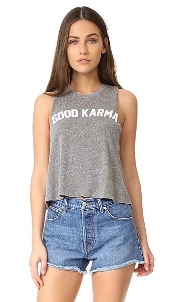 Spiritual Gangster Укороченная майка Good Karma