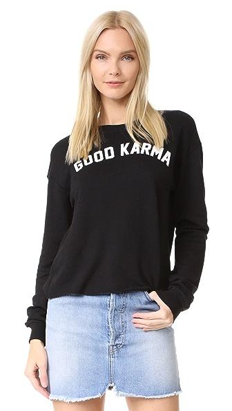 Spiritual Gangster Укороченная толстовка Good Karma