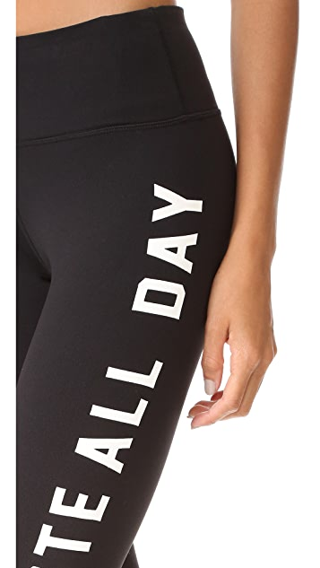 Spiritual Gangster Namaste All Day Leggings