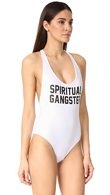 Spiritual Gangster SG One Piece Swimsuit