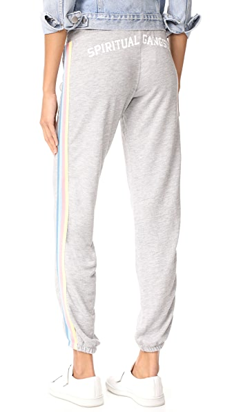 Spiritual Gangster SG Varsity Bliss Sweatpants - Heather Grey