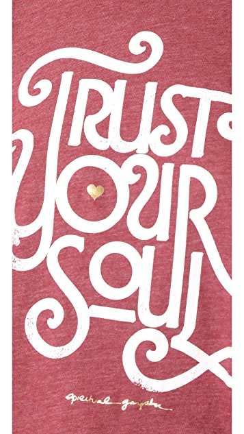 Spiritual Gangster Trust Your Soul Cropped Tank
