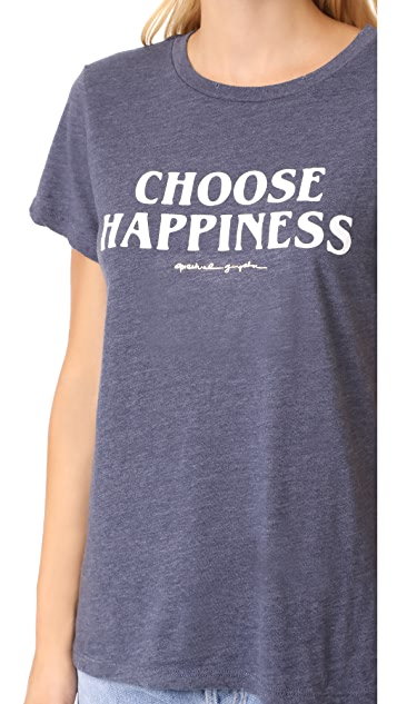 Spiritual Gangster Choose Happiness Tee